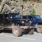 jeep a l'hotel