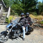 Stone Wood B & B motorcycle trip - geared up