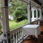 Veranda of MacKenzie house