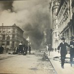 One of the great photos I got to see of SF earthquake and fire of 1906