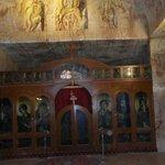 altar & wall carvings