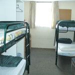 4-bed dorm room