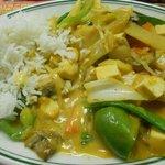 Thai Tofu Vegetable - nice, creamy curry