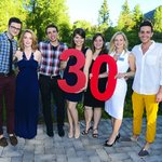 Cast of Charlie Brown celebrates TA 30th Anniversary!