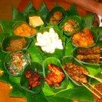 the BEST food in Lombok (rijsttafel)