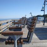 Fishing Chairs on The Pier