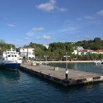 Cruz Bay ferry pier