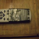 broken tv, remote