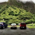 Panorama of the Parking Lot/Entrance