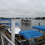The Noosa River ferry