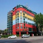 Distinctive colours of Porta Palio