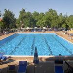 piscina all' aperto