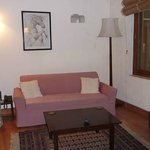 Suite sitting room