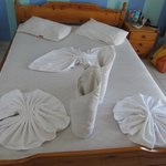 Bed...every day someting special:-)