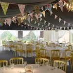 The marque at Boxmoor Lodge is so versatile