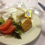 assiette de fromage au menus !!