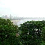Bird's eye view of Marine Drive promenade