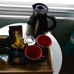 Tea coffee making tray