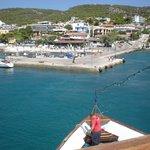 Agina port