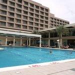 Poolbereich Hilton Ras Al Khaimah