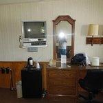 Inside room 104