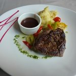Thalassa - steak was delicious