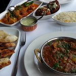 Lamb Balti & Garlic Chicken! :)