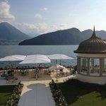 The terrace!
