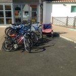 Vélo en location - Vieux et désuets - Caution 150 euros