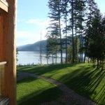 Vista lago dal balcone