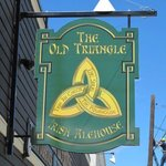 Old Triangle Sign