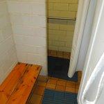 Shower in men's room