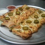 Cheese Breadstic Stuffed with Jalapenos