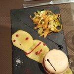 la macaron de foie gras