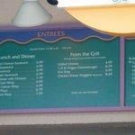 menu at goods to go