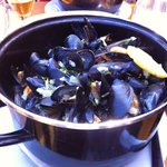 The moule end of moule et frites - also very nice