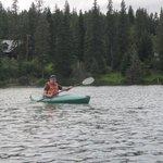 Kayaking on Loch Leven