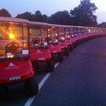 golf buggy car park!