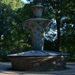 Fountain in the park.