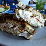 The Dolphin Reuben sandwich.