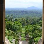 View of Borobudur from Amanjiwo