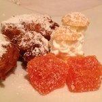 complimentary dessert