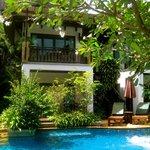Pool-side villa
