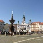 Town square, Cesky Budejovice