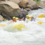 going through #4 rapids