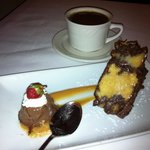 Chocolate Peanut Butter Bread Pudding