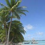spiaggetta \ mare fronte diving