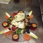 notre salade de chèvre chaud