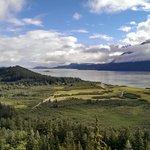 overlooking Chilkat River