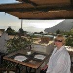 Terrace for breakfast, dinner, cocktails